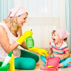 Как навести порядок в доме с детьми?