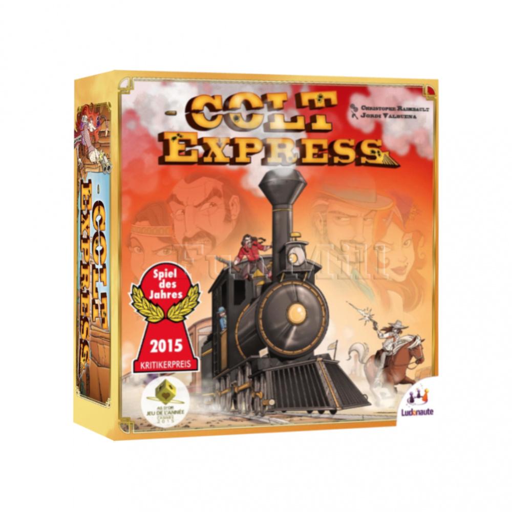 Настольная игра Кольт Экспресс (Colt Express) купить в Санкт-Петербурге - Цена: 2370 руб.   «FunMill»