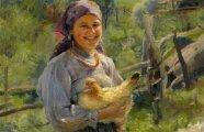 История и археология: Зачем крестьянки на Руси кудахтали и поучали куриц