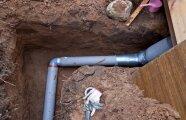 Архитектура: Поставили на даче вывод канализации на глубине 30 см: объясняем, почему он не замерзнет