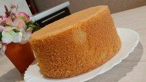 Лайфхак: Как приготовить пышный бисквит без разрыхлителя, чтобы он не осел