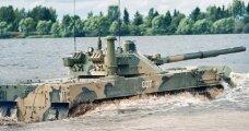 Автомобили: «Спрут»: Россия продемонстрировала возможности первого в мире плавающего танка