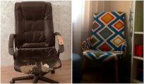 Идеи вашего дома: Как превратить облезлое офисное кресло в домашнее, чтобы не отправлять его в мусор