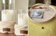 Идеи вашего дома: Как согреть дом без обогревателей: идеи вязаного декора, которые можно сделать своими руками