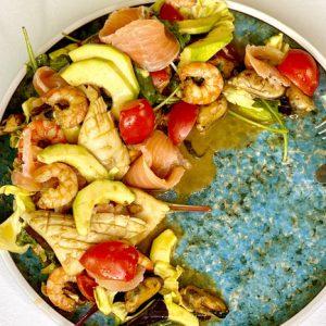 Новогодний салат с морепродуктами - Самый вкусный рецепт