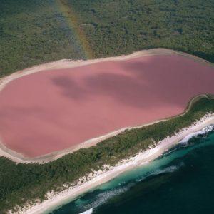 Озеро Хиллиер: тайна розового озера в Австралии