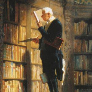 Генетическая память книголюба, или Бзик упоротого ретрограда???)))