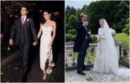 Fashion: 6 звездных пар, которые не побоялись сыграть свадьбу в 2020 году, и их шикарные наряды