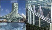 Архитектура: 8 мостов с футуристическими формами, которые стали символом современной архитектуры