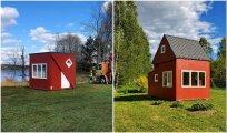 Архитектура: Складной домик, который можно распаковать и установить за 3 часа