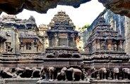 Архитектура: Скальные храмы Эллоры – рукотворное чудо Индии