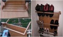 Архитектура: Как из остатков ДСП сделать мини-обувницу для прихожей