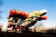 Автомобили: Недостроенный «Спасатель»: забытый советский экраноплан, который видно со спутника