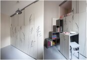 Идеи вашего дома: Парижские мини-квартиры: как обустроить функциональное жилье на 8 «квадратах»