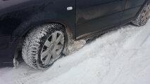 Лайфхак: Нехитрый способ, чтобы на подкрылки машины не налипал снег