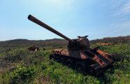 Автомобили: Остров погибших танков: в чем заключается секрет загадочного места