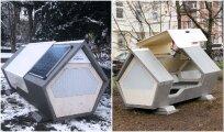 Архитектура: В Германии появились спальные капсулы для укрытия бездомных в холодные ночи
