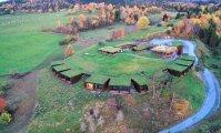 Архитектура: В Норвегии появился эко-отель, замаскированный под травянистый ландшафт