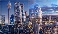Архитектура: «Парящий тюльпан» высотой 305 метров станет эксцентричным дополнением к лондонскому пейзажу