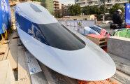 Автомобили: Китай показал поезд, разгоняющийся до 1 000 км/ч, который претендует стать самым быстрым в мире