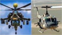 Общество: Почему у западных вертолетов используются полозья, а у отечественных - колесное шасси