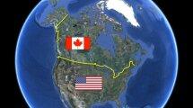 Общество: Почему граница между США и Канадой почти идеально ровная