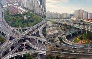 Архитектура: 8 впечатляющих развязок, мастерски «распутывающих» движение транспорта