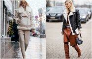 Fashion: 8 стильных образов с дубленкой, которые всегда в моде
