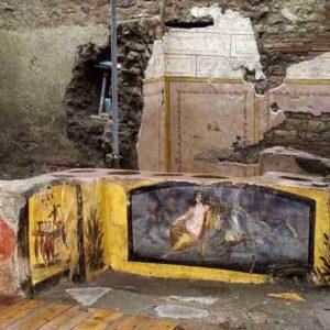 В Помпеях был обнаружен древний киоск быстрого питания