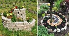 Идеи вашего дома: Спиральный сад для дачи: оригинальное оформление и красивое украшение