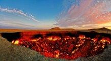 Общество: «Врата Ада» на Земле: как появилась яма, которая беспрерывно горит на протяжении 50 лет