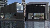 Архитектура: Эффектный эко-дом стал прекрасным дополнением плавучего квартала Амстердама