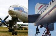 Автомобили: Для чего лайнеру Ту-114 нужно маленькое шасси в хвосте, если оно до земли не достает