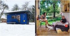 Архитектура: Чехи разработали автономный контейнерный дом, площадь которого всего 14,5 кв. метров