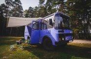 Автомобили: Российские умельцы старый ПАЗик превратили в комфортный дом на колесах с приводом 4х4
