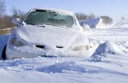 Автомобили: Чем ESP может навредить автомобилисту с сильный снегопад