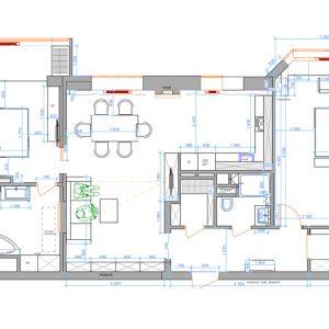 Дизайн-проект 3х-комнатной квартиры в Новогиреево.