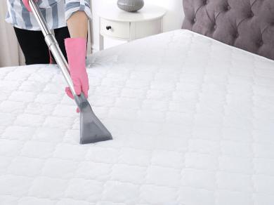 Как очистить матрас на кровати