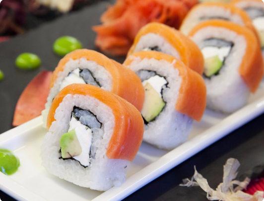 Доставка суши и роллы