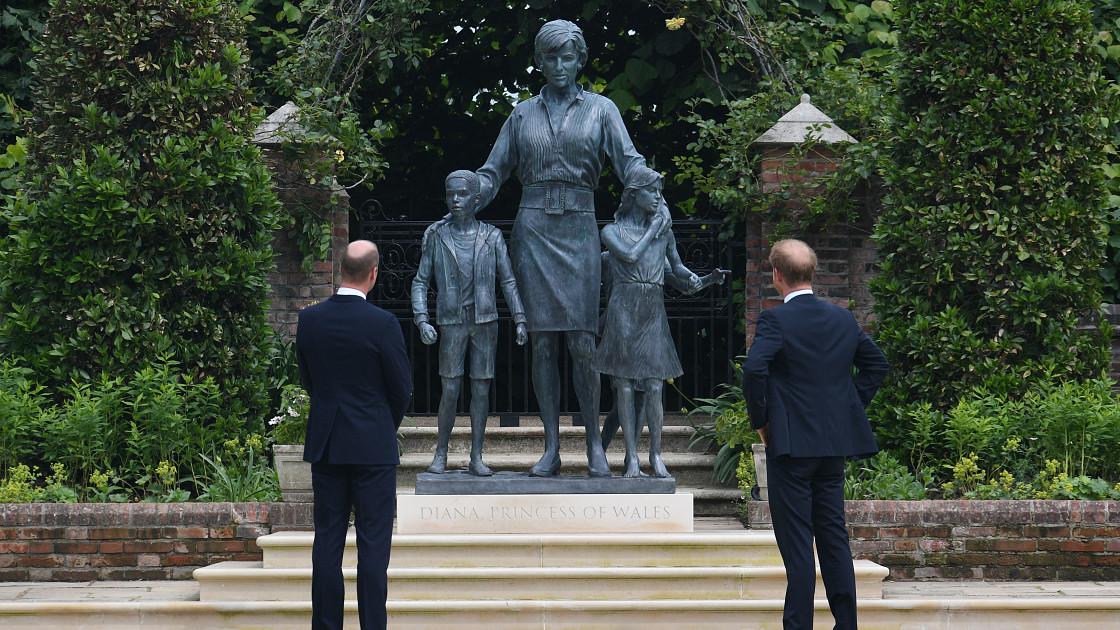 Принцесса Диана увековечена в особом наряде, который вдохновлен милой фотографией с принцами Уильямом и Гарри