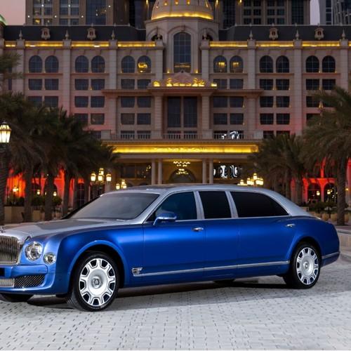 Последняя возможность приобрести легендарный автомобиль Bentley Mulsanne Grand Limousine Mulliner