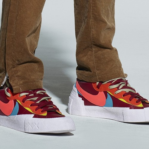 Как будут выглядеть кроссовки из коллаборации Kaws x sacai