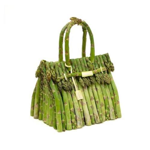 Бен Дензер и Hermès воссоздали сумку Birkin, используя только фрукты и овощи