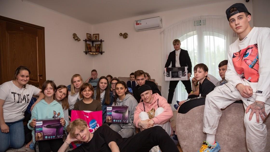 Тиктокеры из house88th посетили детский дом в Коломне