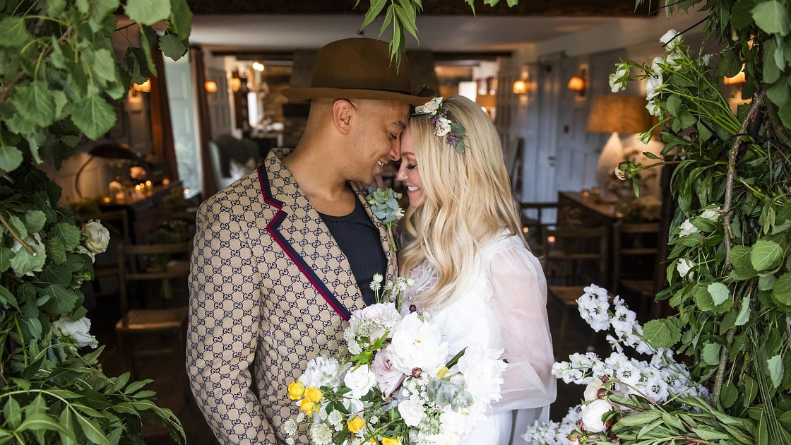 Участница группы Spice Girs вышла замуж