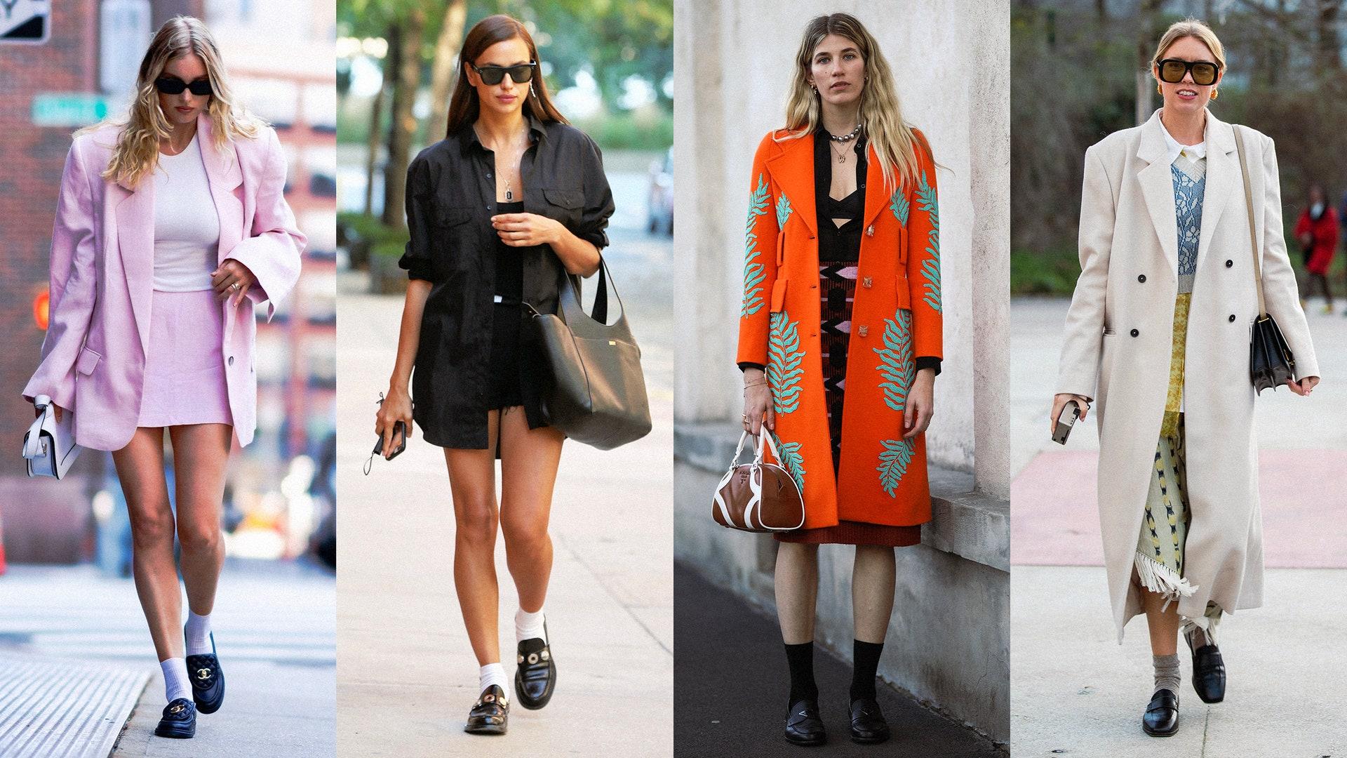 Носите лоферы с высокими носками — как делают Ирина Шейк и Tyler, the Creator