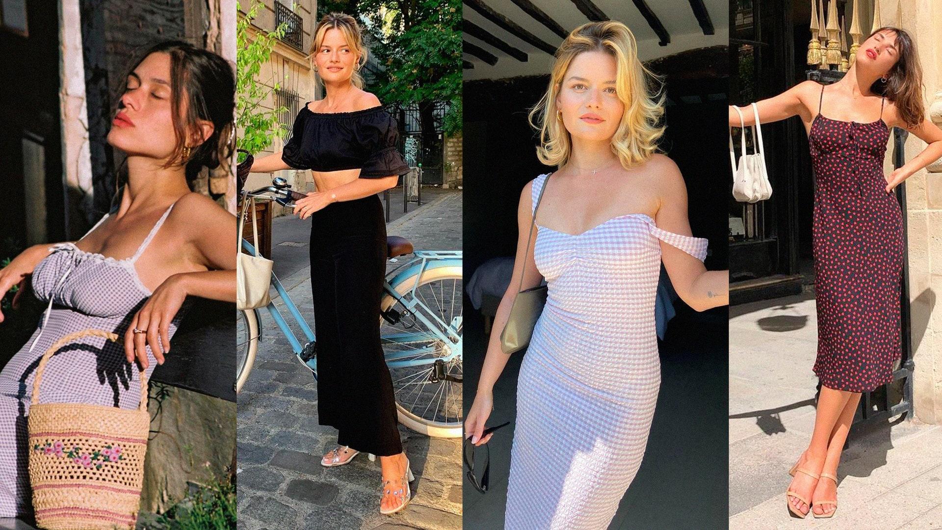 Как парижанки одеваются в жару: 10 модных образов, которые легко повторить