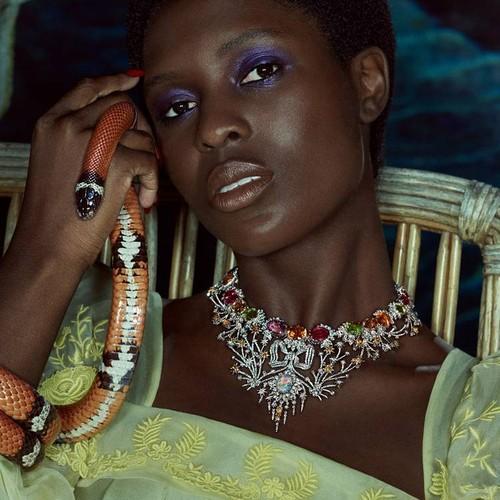 Gucci выпустили коллекцию ювелирных украшений «Hortus Deliciarum»