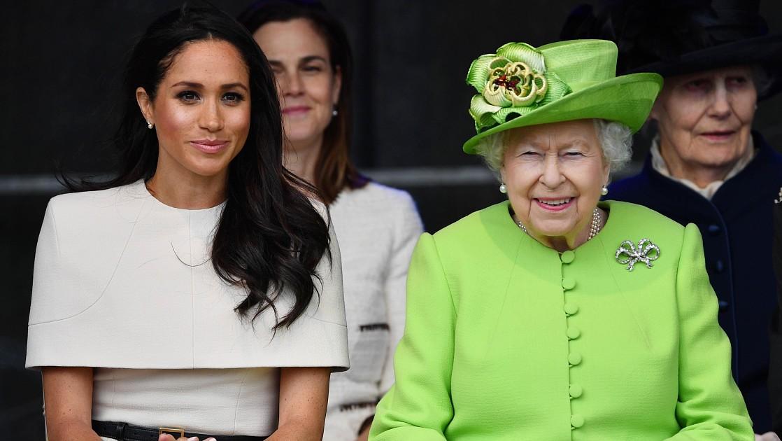 СМИ: Меган Маркл пойдет на сближение с королевой Елизаветой II в день своего 40-летия