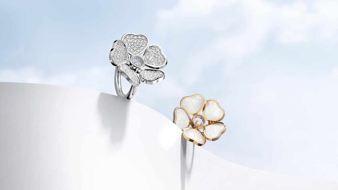 Chopard представляет новую коллекцию Happy Hearts Flowers